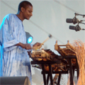 Lansiné with two balafons